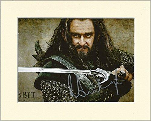 Richard Armitage der Hobbit Thorin Eichenschild SIGNED Autograph Print in 10x 8, cremefarbenem Passepartout