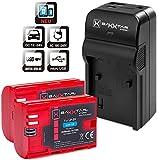 Baxxtar RAZER 600 II Ladegerät 5 in 1 + 2x BAXXTAR PRO ENERGY Akku für Canon LP-E6 (echte 2040mAh) NEUHEIT mit Micro-USB Eingang und USB-Ausgang, zum gleichzeitigen Laden eines Drittgerätes (GoPro, iPhone, Tablet, Smartphone..usw.)
