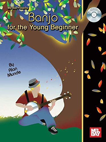 Munde Alan Banjo For The Young Beginner Banjo Book/CD (Young Beginners)