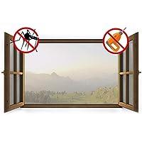 sekey Mosquitera con auto-adhesivos Velcro | Insect Stop | de cortina antimosquitos Mosquitera, apto para 1,5m x 1,8m), color blanco