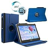 Tablet Tasche für DENVER TAQ-10243MK2 Schutz Hülle Etui Case + Touch Pen – Blau 10.1 Zoll 360˚
