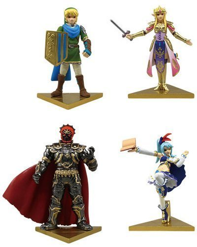 Unbekannt Takara Tomy The Legend of Zelda Hyrule Warriors Stand Figure Set of 4