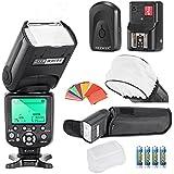 Neewer Triopo tr-988E-TTL i-TTL Kit de Flash de cámara Speedlite con sincronización de alta velocidad para Nikon