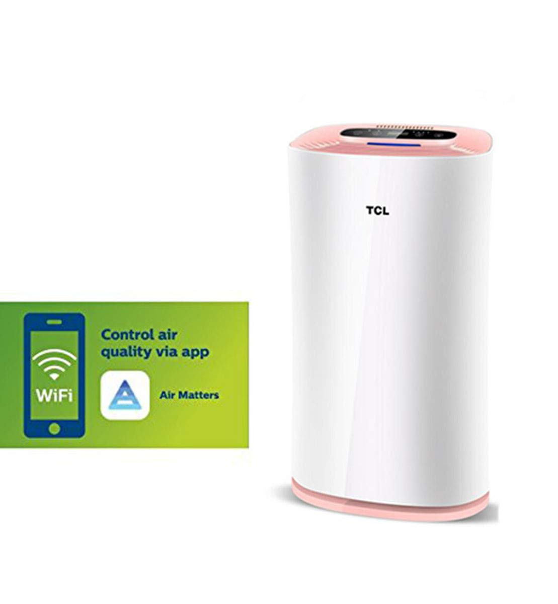 51FDAaC%2BBFL - TCLTKJ303F-S1 Smart Purifier Household In Addition To Formaldehyde PM2.5 Negative Ion Humidifier