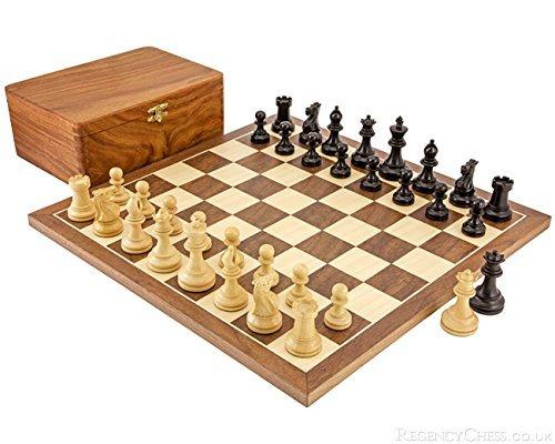 Régence Échecs Noyer Compétition Set D'échecs