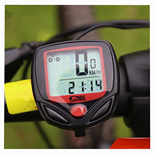 Fahrradcomputer Bicycle Computer Fahrradtacho Tachometer Kilometerzähler, Radsport