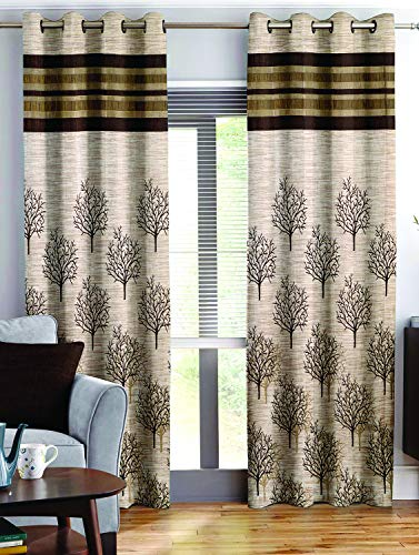 check MRP of living room curtains brown Story@Home