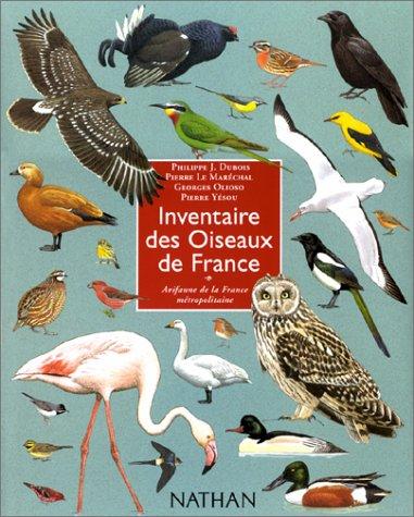 Inventaire des oiseaux de france