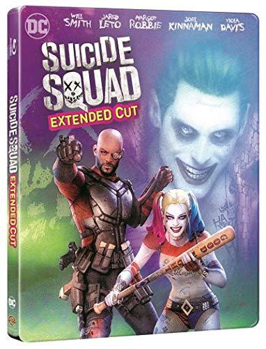 Suicide Squad (Extended Cut) - Steelbook (Import inkl. deutschem Ton)
