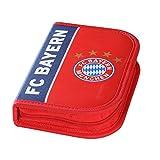 FC Bayern München Federmäppchen & Faluenzermäppchen im Set mit Ansteckbutton BAYERN