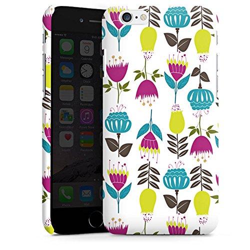 Apple iPhone X Silikon Hülle Case Schutzhülle Tulpen Flower Muster Premium Case matt