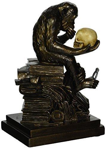 Design Toscano de Darwin Ape Sculpture by
