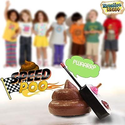 KreativeKraft Juego de Caca Que se Controla a Distancia Speed Poo Actividad Divertida Fiestas para Niños de R.M.S.I