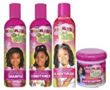African Pride Dream Kids Olive Miracle Detangling SET OF 4 | Detangling Shampoo