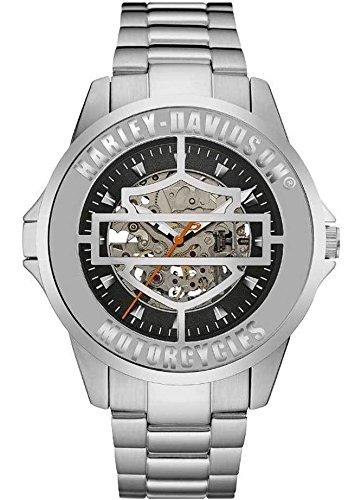 Harley-Davidson Silver Open Dial 76A154