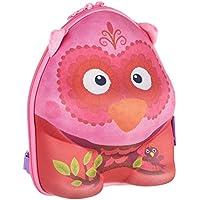 okiedog wildpack mochila para niños con motivo 3D y orejas de peluche