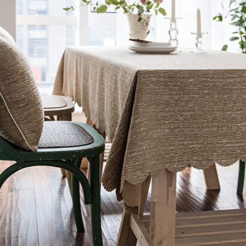 Sunhao tovaglia europea colore solido tessuto di lino grezzo impermeabile tovaglia tovaglia home hotel tavolino tovaglia universale telo copertura