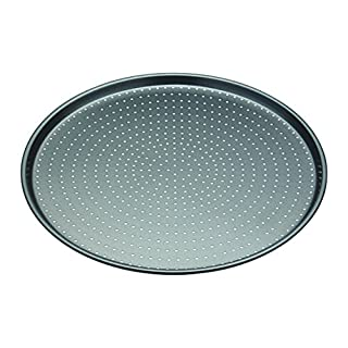 KitchenCraft MasterClass Crusty Bake Pizza Crisper Tray (32 cm)