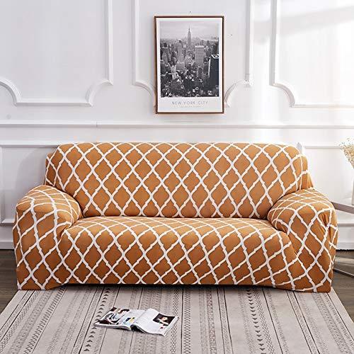 badaiwxmx Elegante diseño geométrico clásico Funda de sofá elástica Estampado de Flores...