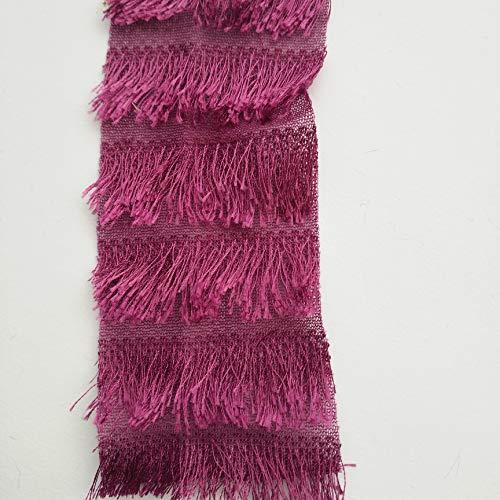 Tanzkleider Kostüm Verkauf - Plüsch Fransen-Stoff, Haarig, gestrickt, für Kostüm, Tanzkleid, Handarbeit, Breite 62