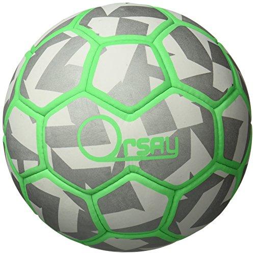 Orsay 47101.A14 Balón de Fútbol, Negro, S