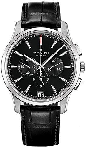 ZENITH capitano Cronografo da uomo orologio automatico 03–2110–400–22-c493