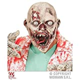Lively Moments Vollmaske Madhouse Zombie / Zombiemaske / Halloween / Kostümzubehör