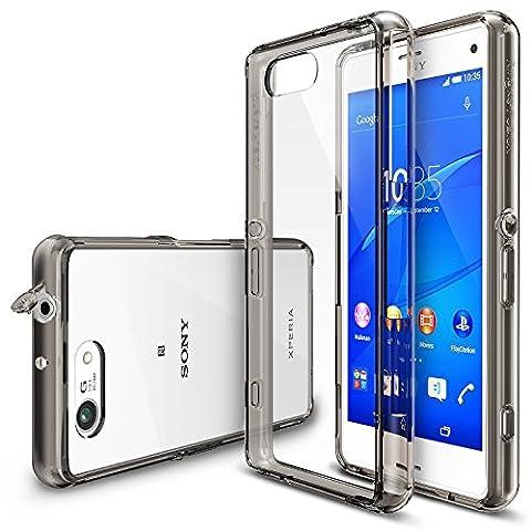 Xperia Z3 Compact Hülle, Ringke FUSION kristallklarer PC TPU Dämpfer (Fall geschützt/ Schock Absorbtions-Technologie) für das Sony Xperia Z3 Compact -