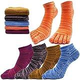 Best Toe Socks - MOAMUN 5 Pairs Spring Five Finger Toe Socks Review