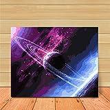 Godess4 DIY Ölmalerei Set Digitale Malerei - der Sternenhimmel 16 * 20 Zoll (40 * 50 cm) Füllen Sie Ihre handgemalte Digitale Öldekoration.