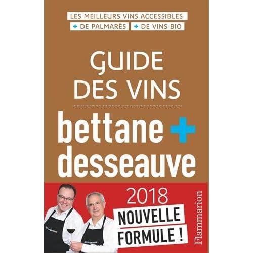 Guide des vins, 2018