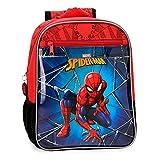 Mochila 28cm Spiderman Black