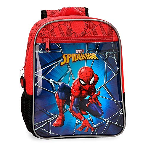 Mochila 28cm Spiderman Black