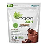 Naturade Veganslim Plant Based High Protein Weight Loss Shake – Chocolate - 25.7 oz
