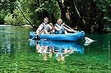 Sevylor Kanu aufblasbar Adventure Kit - 2 Personen Faltkajak inkl. 2 Paddel, Fußpumpe, 314 x 88 cm - 8
