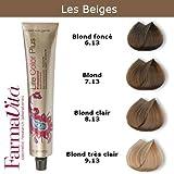 Coloration cheveux FarmaVita - Tons Beiges Blond foncé beige 6.13
