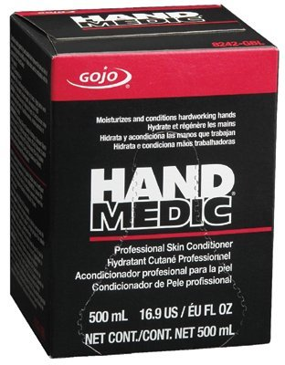 go-jo Industries 8242–06 500 ml Bag Hand Medic Professional Haut Conditioner, Englisch, 15,34 fl. oz, Kunststoff, 2,5 x 2,5 x 2,5 cm (Haut-conditioner 1)
