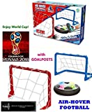 TOY-STATION Kid's Magic Hover Football Toy Indoor Play Game - with 2 Goal