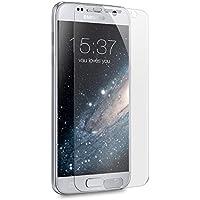 vau Schutzfolie für Samsung Galaxy S7 - Folie deckt gesamte Front ab ( 6er Set Screengards Displayschutzfolie transparent )