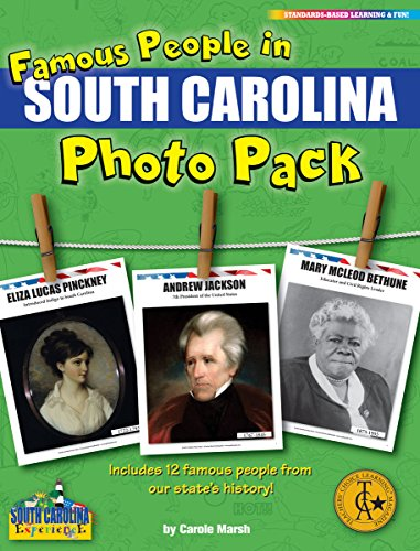 Gallopade Publishing Gruppe Famous People aus South Carolina Foto Pack (9780635122643)