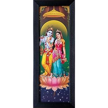 Buy Shree Handicraft Modern Art Radha Krishna Lord Krishna with