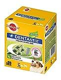 Pedigree DentaStix Fresh Hundesnack für kleine Hunde (5-10kg), Zahnpflege-Snack mit Eukalyptusöl und Grüner Tee-Extrakt, 4 Packungen je 28 Stück (4 x 440 g)