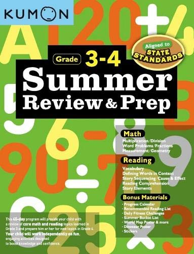 Summer Review & Preparation 3-4