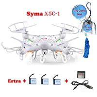 New Version Syma X5C 2.4G 6 Axis GYRO HD Camera RC Quadcopter