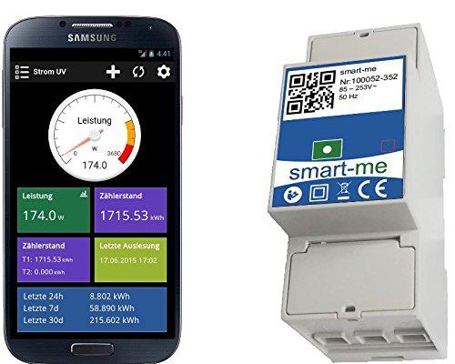 Preisvergleich Produktbild smart-me Meter, 32 A (Einphasen-Drehstromzähler), schaltbar