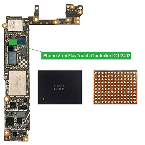 TechZone U2402 Screen Controller Black Meson Touch IC 343S0694 Chip for Apple iPhone 6 & 6 Plus 6+ - Logic Board