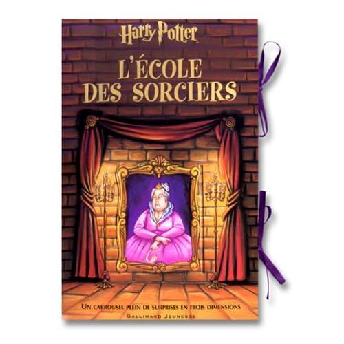 Harry Potter l'école des sorciers : Un carrousel plein de surprises en trois dimensions