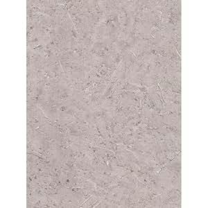 Papier Peint Expansé Intissé Beton Paillette Taupe 53cm x 10,05m