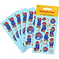 Paper Projects 01.70.15.027 Paddington Bear Party Size Sticker Pack (6 Sheets)