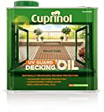 Best Deck Paints - Cuprinol 2.5L Decking Oil and Protector - Natural Review